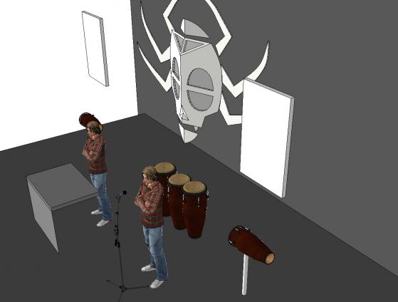 Scène de Wanga Music